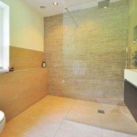 Idée de décoration pour une salle de bain moderne
