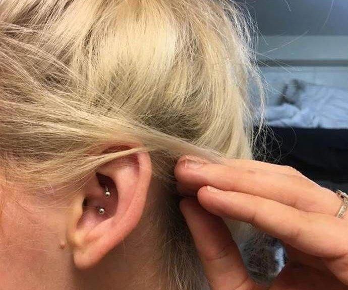Piercing rook