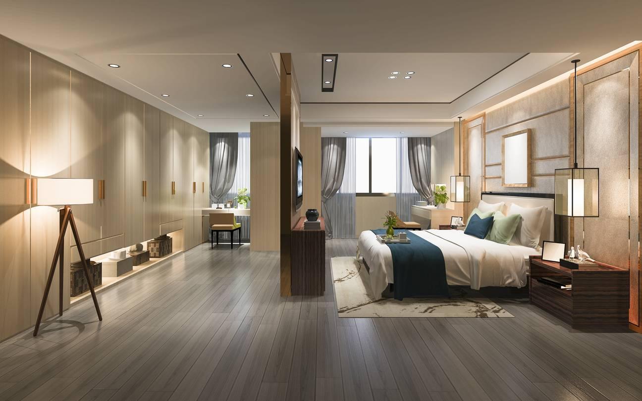 éclariarge chambre à coucher décoration