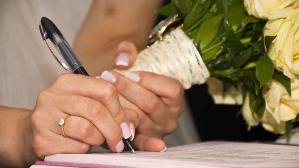 mairie signature mariage