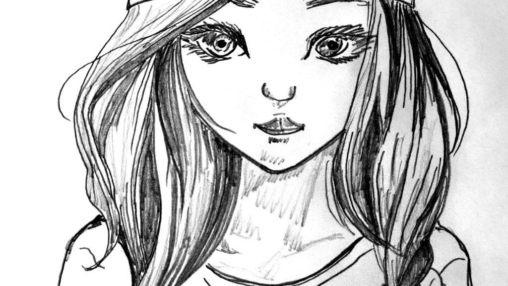 dessin-fille