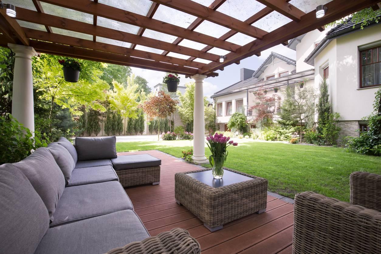 entretien jardin et pergola en bois