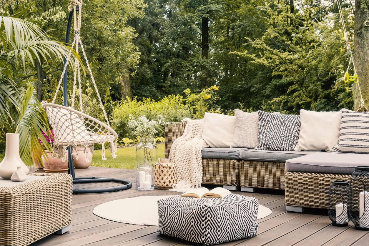 meuble de jardin moderne
