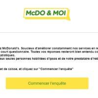 McDo et moi : Donnez votre avis