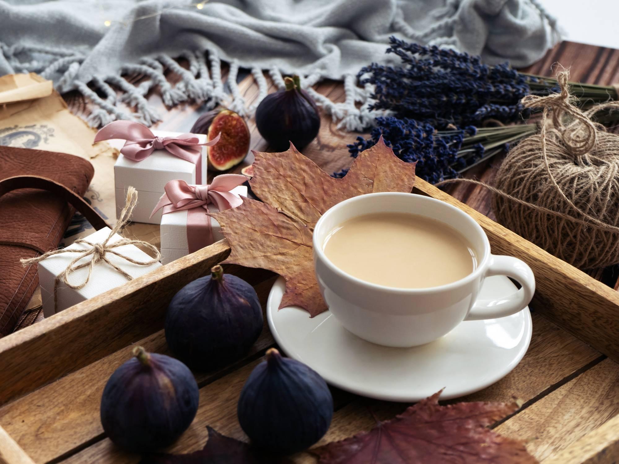 offrir une boîte à thé pour Noël