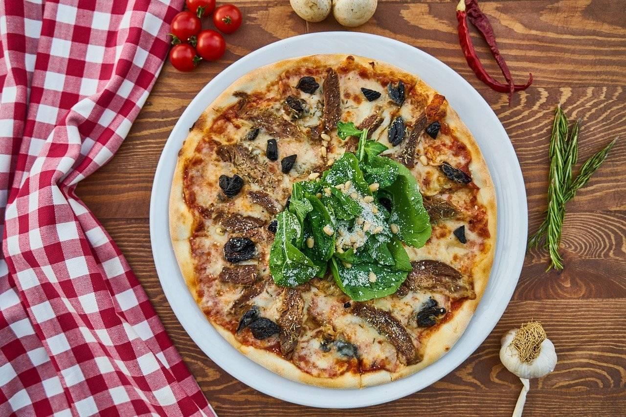 annuaire de pizzérias pour commander une pizza sucrée