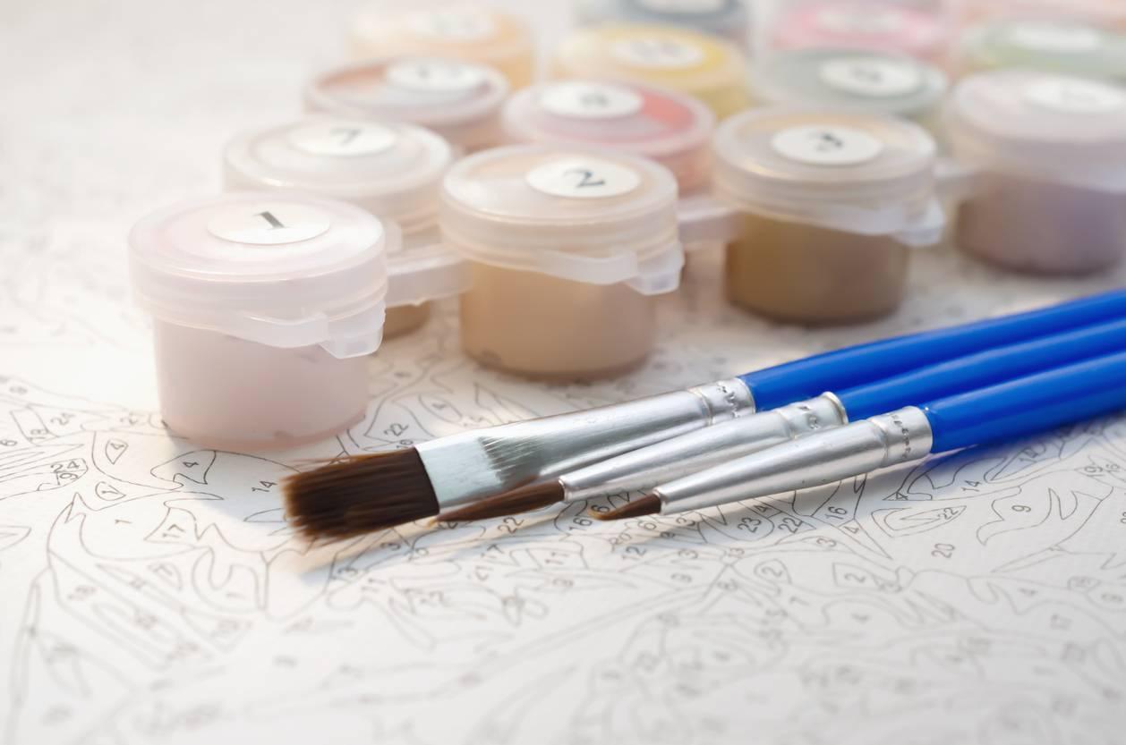 acheter un kit de peinture par numéros