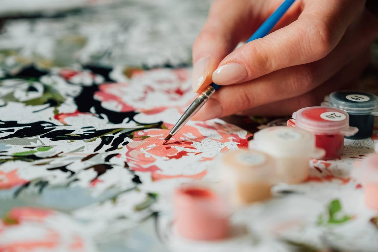 peinture par numéros idée-cadeau