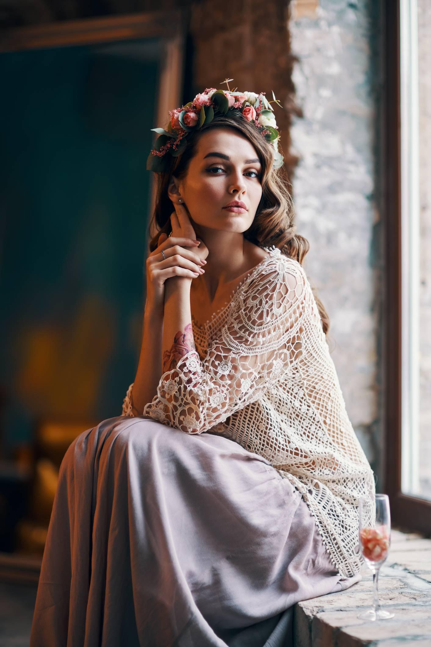 robe crochet bohème